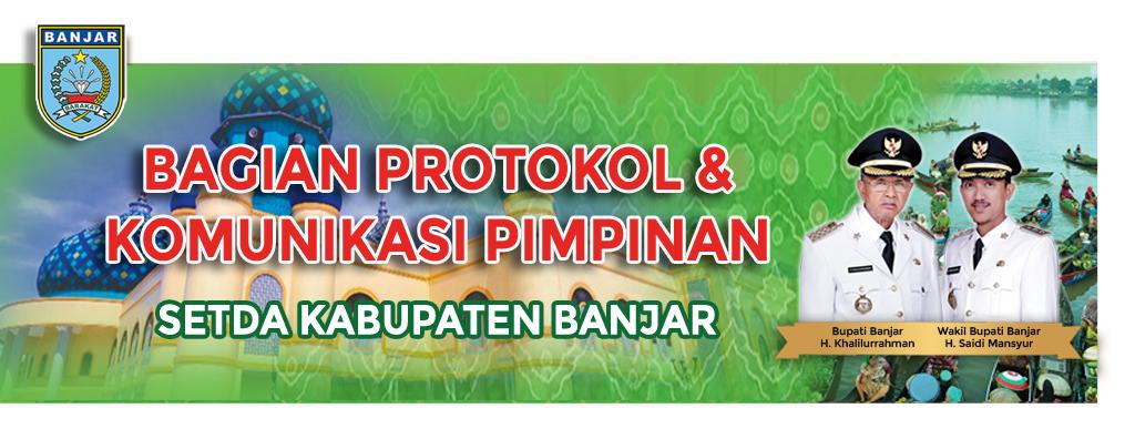 PROTOKOL DAN KOMUNIKASI PIMPINAN PEMERINTAH KABUPATEN BANJAR logo